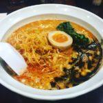 福岡市中央区春吉にある『本家博多担々麺!担々と』の【辛ねぎ担々麺】を〆で食べました。