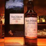 スコッチ ウイスキー タリスカー25年 Scotch whiskey TALISKER 25YEARS