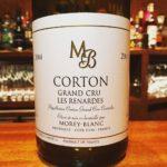 Corton Les Renardes 2004 Morey Blanc コルトン・レ・ルナルド2004モレ・ブラン